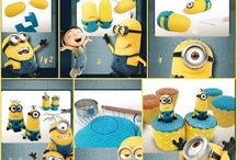 Cupcakes de minions