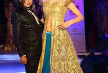Yet another evening full of glamour & gold!! Sikandar Nawaz showcased its collection at Finale of Femina Wedding Fiesta presented by Times of India at Jaipur!!!