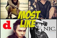 MOST LIKE PHOTOS / INDONESIAN MALE MODELS - Most Like Photos. We present to you the most liked photos. This is based on the results of visitors instagram @indonesianmalemodels. Check This Out Every Week!