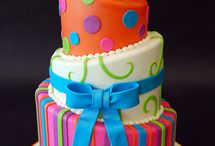 Stylish Cakes / Desert, Cake, Fun, Colorful, Style, Wedding, Valentine