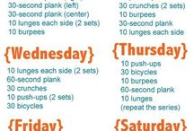 Busy Mom Fitness / Exercises that I can do anywhere, anytime, with little or no equipment.