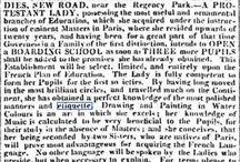 My Regency World - Childhood and Education / For more Regency World information, go to: http://www.lesleyannemcleod.com/regencyworld.html