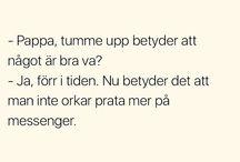 Instagram citat / The typical me (svenska)