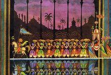Arabian Nights Inspired / Jinni! Genie! Djinn! I love them all.  www.darkcaravancycle.com