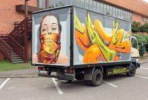 Chemis artwork / Street art, graffiti, 3D anamorphic and big scale murals is what you can find here.