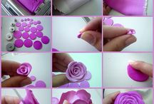 Polymer Clay Flowers DIY