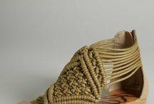 macrame sandalias