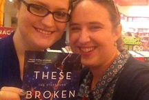 THESE BROKEN STARS in the wild! / Pictures of TBS in bookstores, libraries, bedrooms, and in readers' hands. Got a pic? Send it to starboundtrilogy@gmail.com!