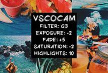 Vscocam + Instagram