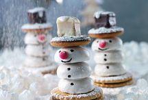 Schneemann -gebacken-
