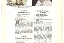 Vintage American Recipes / Recipes from the first half of the 20th century