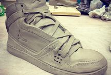 Vliegende schoen klei