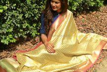 Banarasi Dupattas / Gorgeous authentic banarasi silk dupattas!
