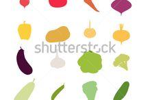 warzywa icony