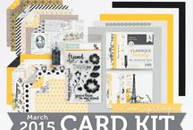 Cards: SSS March 2015 / by Cindi Lynch