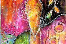 Colourful Art / Some bright, creative, colourful, stunning artwork.