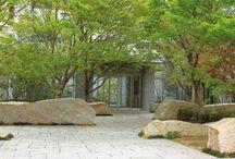 entrance landscape