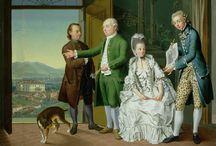 18th century : Leopard print !