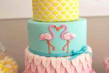 Inspiração festa de Flamingo