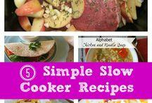Crock pot recipes / Easy food