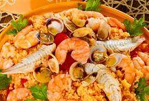 Crostacei, Molluschi e Altri pesci - Ricette dieta mediterranea