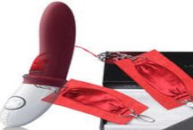 Lelo, Sutra Cuffs Red Free if you buy a LELO