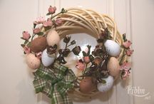 Easter wreath / My favourite simple yet gorgeous Easter wreath