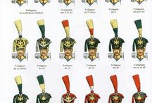 Napoleonic Wars / Soldiers from many different nstion that took parts in the Napoleonic wars