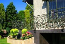 Balustrada balkonowa winogrona