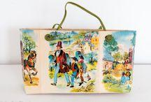 Sacs en papier / Créations de sacs en papier à partir de vieux journaux et de livres pour les enfants