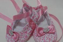little girl ballet slippers