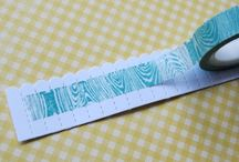 washi tape ideas / by Eleanor Cooper