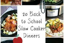 Slow cooker ideas ! / Ideas for those days where you think you don't have enough time to cook