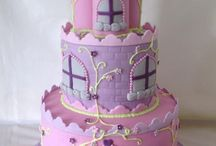 Taart kasteel / cake castle fondant