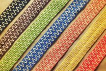 Essex Collection / A 2in wide tape made with rayon and recycled cottons, natural cotton, and jute.  #trim #trimmings #jutetrim #fringemarket #passementerie #jute #burlap #chevron #jutewebbing #decorativetape #decorativebraid #widetrim