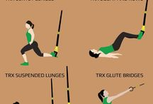 Exercises with TRX