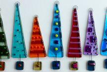 Jule ting - inspiration / Jule glas fusing