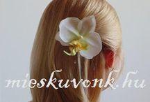 Fátylak, hajdíszek esküvőre / További kínálat itt: http://www.mieskuvonk.hu/fatylak-fejdiszek-hajcsatok-k58266