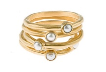 Stacking Rings / More stacking rings: http://betweenholidays.blogspot.com/2011/10/stacking-rings.html