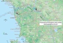 Tuscany, Italy, including Florence, Siena and Pisa / Twelve maps covering the Italian region of Tuscany, including Florence, Siena (Sienna) and Pisa. Find out more about our maps on our website (http://www.pcgraphics.uk.com) or on our other Pinterest Boards.