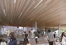"""Friis & Moltke Wins / FRIIS & MOLTKE vandt konkurrencen om det det nye Erhvervsakademi Sjælland, Campus Roskilde. Et team bestående af H. Skjøde Knudsen, Friis & Moltke, WE Architecture samt Alectia står bag det samlede projekt, der udgør i alt 10.000 m².  Ambitionen med projektet er, at Campus Roskilde vil komme til at fremstå som en dynamisk og levende """"by i byen"""" med et inspirerende læringsmiljø præget af åbenhed og fleksibilitet med ideelle muligheder for faglige fællesskaber."""
