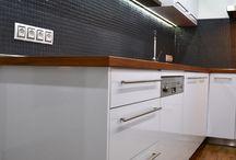 White kitchen, Hodonín 2014, Czech Republic