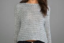 свитер простой
