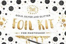 Foil, paint and Callography kits