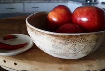 Bowls / A selection of hand made bowls made by us
