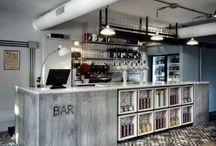 Coffee Shop / Espresso bars, designer coffee shop's..