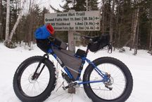 All Things Fat Bike / Maine Huts & Trails has some of the best fat bike trails in New England. Ride hut-to-hut, or just cruise around for a day trip!
