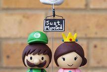 idéias para casamento / noivinho, buquê...