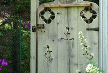Garden Gates / Beautiful garden gates / by A Cultivated Nest