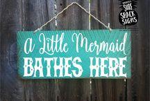 Mermaid bathroom !